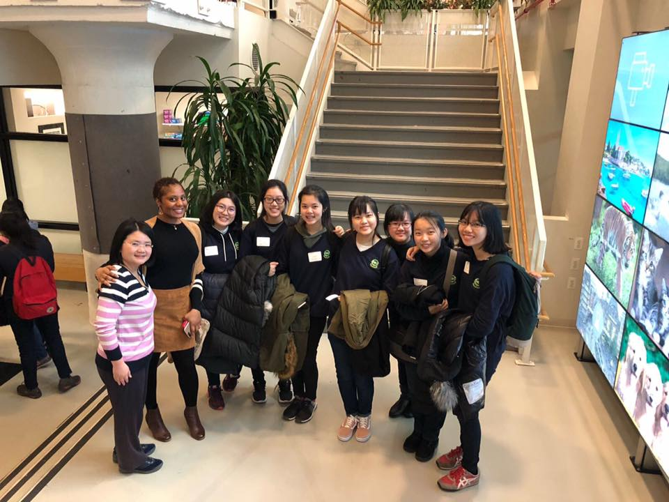 Visit of Nanyang Girls' High School to Avenues: The World School in New York